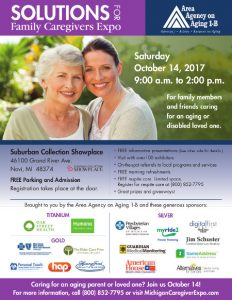 Solutions for Family Caregiver Expo Flyer